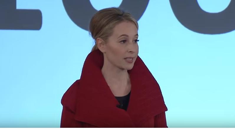 Noreena Hertz at Google Zeitgeist 2015 speaking about Generation K