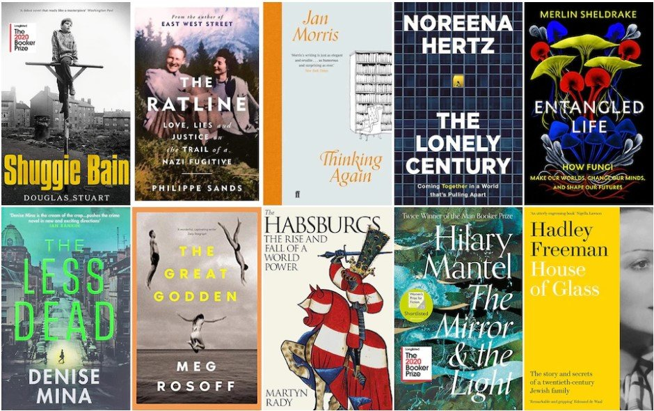 The Telegraph chooses The Lonely Century as one of their top 5 books of the year