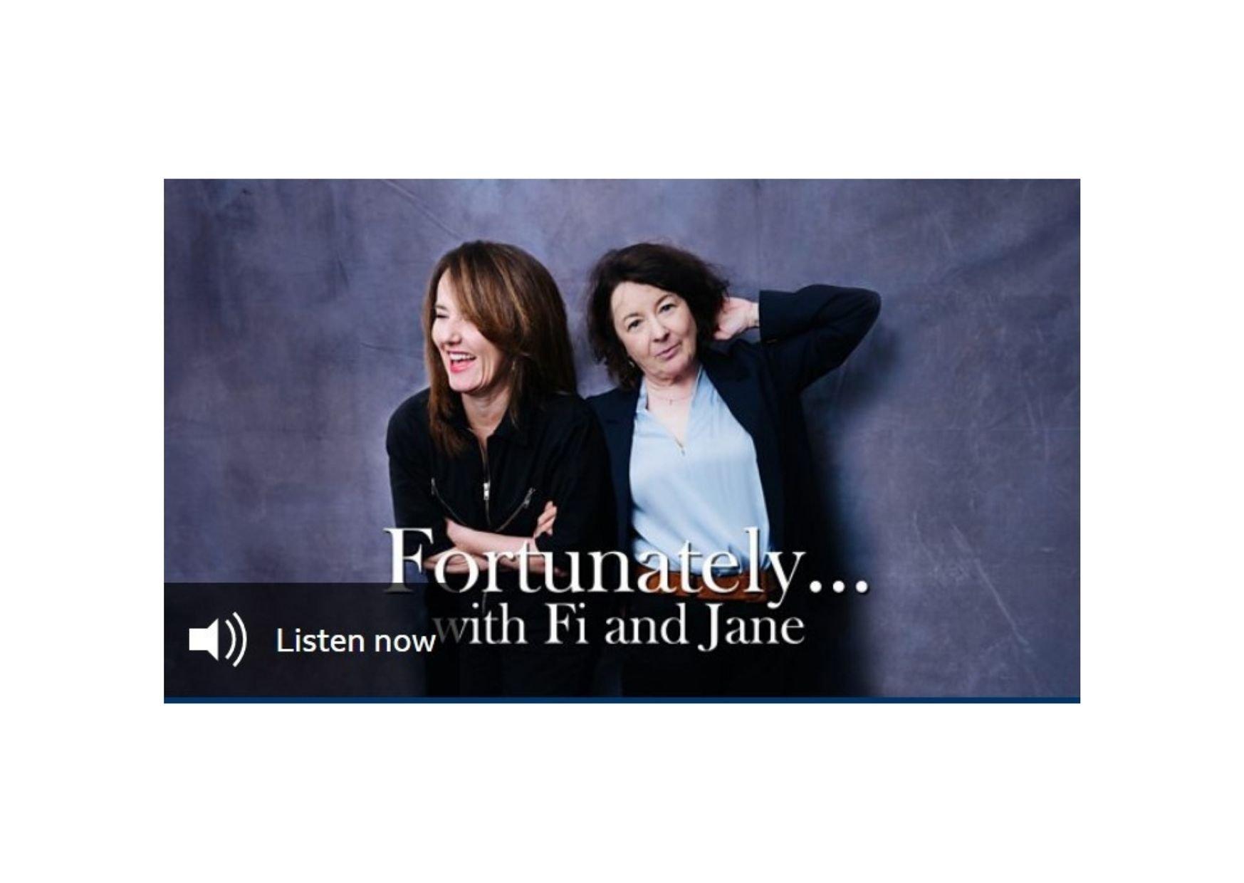 Noreena Hertz on Fortunately… with Fi and Jane, BBC Radio 4