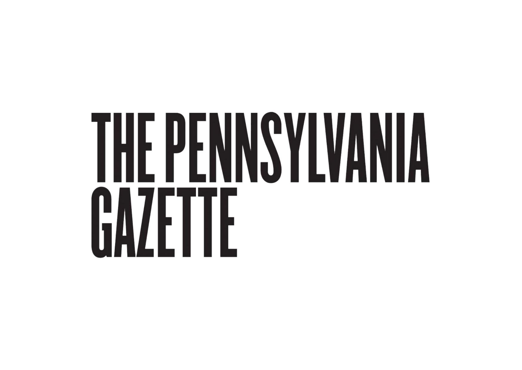 The Lonely Century in The Pennsylvania Gazette