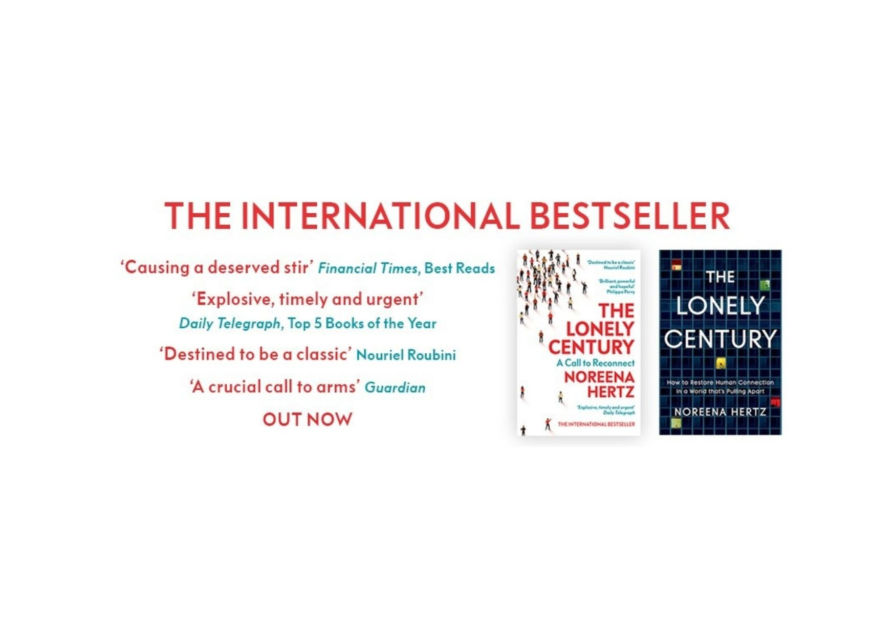 The Lonely Century – OUT NOW IN PAPERBACK
